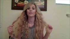 How to get Taylor Swift curls by Alexandra Agro