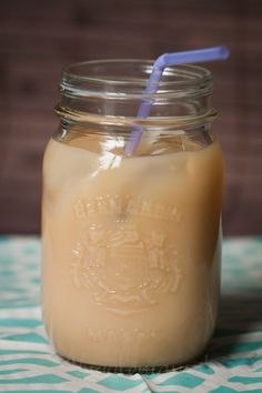 Iced Vanilla Coffee  This sounds good! This is a must make.