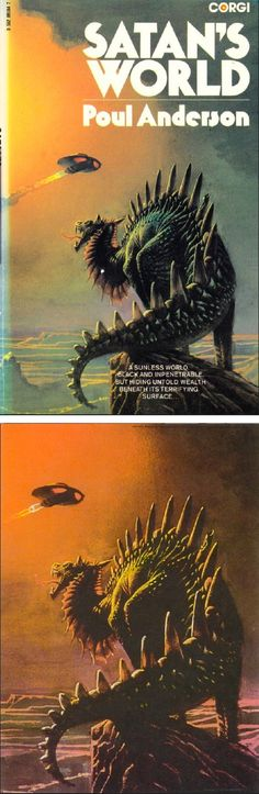 BRUCE PENNINGTON - Satan's World by Poul Anderson - 1980 Corgi Books.