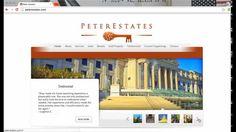 real estate site design