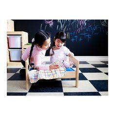 DUKTIG Puppenbett mit Bettset - - - IKEA