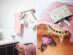 DIY Utensilo zur Aufbewahrung von Gästehandtüchern #diy #aufbewahrung #Schönbeidir  Ein Beitrag von @ichliebedeko