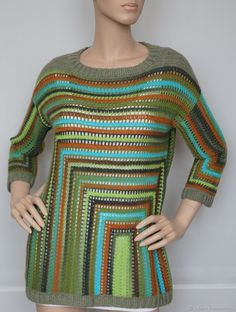 """Пуловер """"Палитра"""" – купить в интернет-магазине на Ярмарке Мастеров с доставкой"""