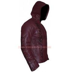 7fc6675a7bd Arrow Roy Harper Season 3 Leather Jacket