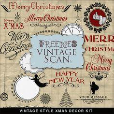 Far Far Hill: Freebies Vintage Kit