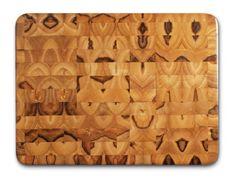 "Proteak Rectangular Cutting Board, 16"" x 12"" x 2"" End Grain #307"
