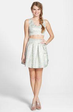 a. drew Jacquard Two-Piece Dress, $98, nordstrom.com   - Seventeen.com