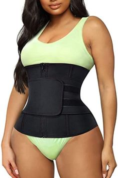 Junlan Women Waist Trainer Cincher Belt Tummy Control Sweat Girdle Workout Slim Belly Band for Weight Loss: Amazon.com.au: Fashion Best Waist Trainer, Latex Waist Trainer, Waist Trainer Corset, Waist Training Results, Weight Loss Meals, Healthy Recipes For Weight Loss, Slim Belly, Lose Belly Fat, Femmes Les Plus Sexy