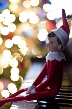 Elf on the Shelf: the concept is cute...but why is he so CREEPY looking????!?!?