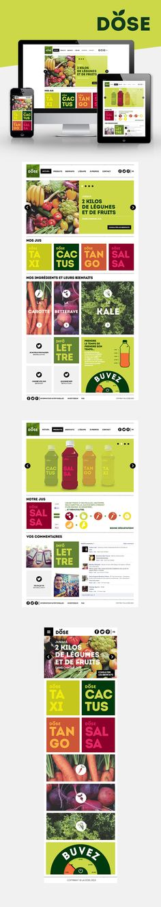 Dose Juice on Behance