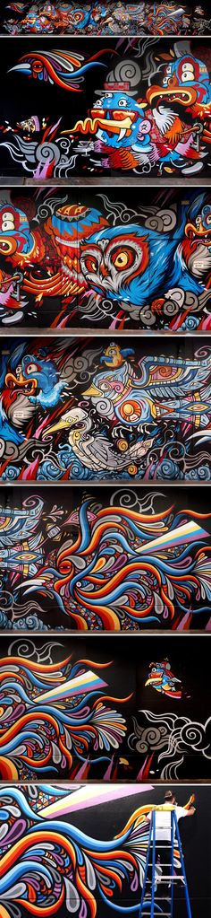 Wow. Nuts Collaboration featuring Beastman for Wonderwalls
