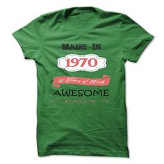 Made In 1970 T Shirts, Hoodies. Check Price ==► https://www.sunfrog.com/Birth-Years/Made-In-1970-vjz2-ladies.html?41382