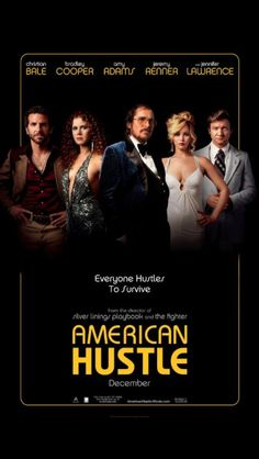 """I watched """"American Hustle"""" last night. A really enjoyable film. I particularly enjoyed Christian Bale's and Amy Adams' performances - the chemistry was believable although Bale's character wasn't particularly appealing from any perspective. Before the final sting, I felt the storyline dragged on a little, but the ending was strong."""