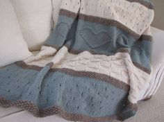 Coperte di lana ai ferri (Foto)   Donna