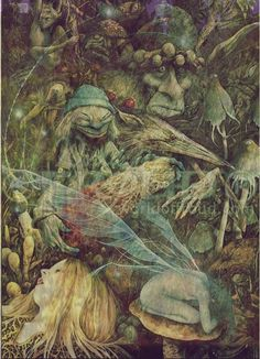 Brian Froud I have this in a print. Remarqued by Mr. Froud. Love, love, love it.