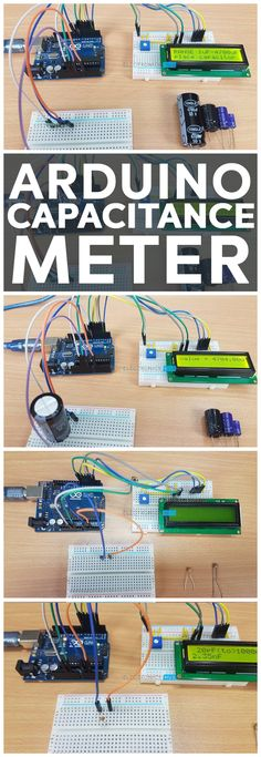 Capacitance Meter, as the name suggests, is a device that is used to measure the Capacitance of a Capacitor. There are many Capacitance Meters available in the market but we have built an Arduino Capacitance Meter in this project. Motor Arduino, Arduino Lcd, Arduino Programming, Technology Gifts, Technology World, Computer Technology, Gaming Computer, Hobby Desk, Hobby Cnc