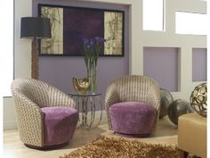 Love these purple chairs! What about you?