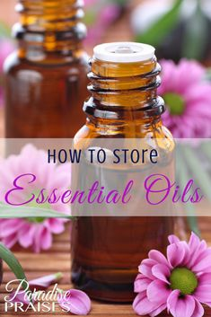 There are many ways to store essential oils, here are the ones we consider the best.