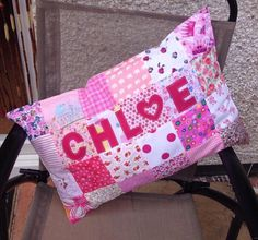 Personalised just for you https://www.etsy.com/uk/listing/529203317/personalised-patchwork-pillow-baby