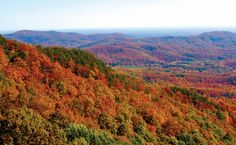 7 of the best scenic overlooks and views on the Blue Ridge Parkway in Virginia's Blue Ridge Mountains.