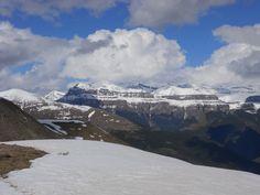 Los tresmiles de Ordesa desde la cima del Pelopín (2005 metros)