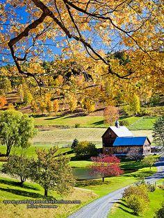 Sleepy Hollow Farm, Woodstock, Vermont, USA