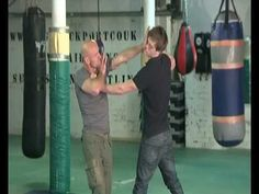 Kevin OHagan Martial Arts Flinch Response Moves For Use in Street Fights, Self Defense Or Kung Fu - YouTube