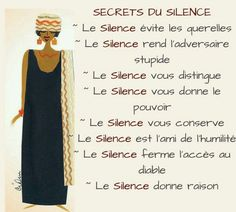 The Secret – Collection Of Inspirational Quotes – Viral Gossip Positive Attitude, Positive Vibes, Quotes Positive, Vie Positive, Positive Psychology, Happy Quotes, Silence, Quote Citation, French Quotes