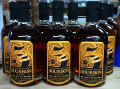It's 5 cask strength bourbon! 102 proof, special limited bottling. 60 bottles only available exclusively at the distillery! 207 Mission Avenue, Cashmere WA 98815