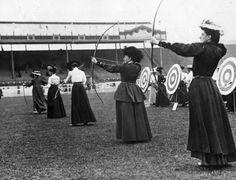 Foto na História: as roupas femininas das olimpíadas de 1908