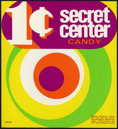 1970's vending machines | ... machine vending insert card 1 cent secret center candy 1960 s 1970 s 3