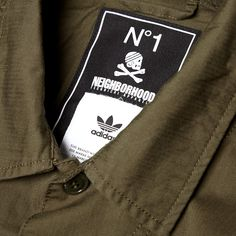 Adidas x Neighborhood BDU Shirt (Night Cargo)