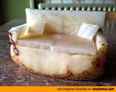 Sofá de patata