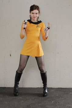 Female Kirk Stock 1 by ChrisscreamaBatt