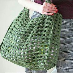 Crochet bag crochet t – Artofit Bag Crochet, Crochet Market Bag, Crochet Handbags, Crochet Purses, Crochet Crafts, Crochet Stitches, Crochet Projects, Knitting Patterns, Crochet Patterns