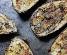 Graffiti Eggplant with Roasted Garlic and Sumac -- Gluten free, Paleo, and Whole30 compliant.