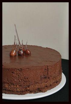 Entremets croustillant & mousseux au chocolat