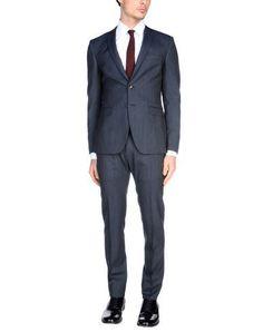 TONELLO Men's Suit Dark blue 36 suit