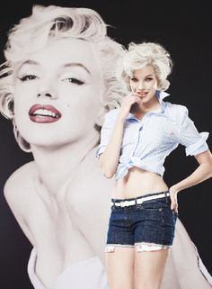 In stores now! Marilyn Monroe for Macy's! #marilynmonroe #fashion #style