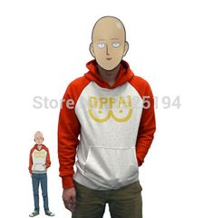 Just in to our Costume collection! Kawaiiiii :3  One Punch Man Saitama Oppai Hoodie Cosplay