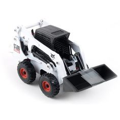 """Bobcat 32 Toy, White by ERTL Toys. $9.49. For ages 8 and up. 5""""L x 2 1/2""""W x 2 1/2""""H."""