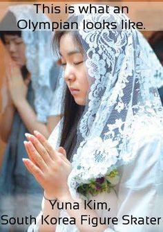 Yuna makes me proud to be Korean.  She makes me proud to be Catholic.