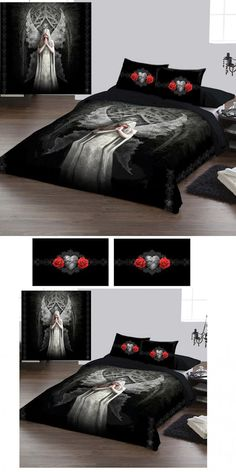 Anne Stokes Only Love Remains Double Duvet Cover Set - £69.99 : From ANGEL CLOTHING