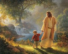 Jesus Featured Images - Take My Hand  by Greg Olsen