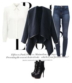 """Untitled #180"" by nihada106 ❤ liked on Polyvore featuring H&M, Eastex, J Brand, women's clothing, women's fashion, women, female, woman, misses and juniors"