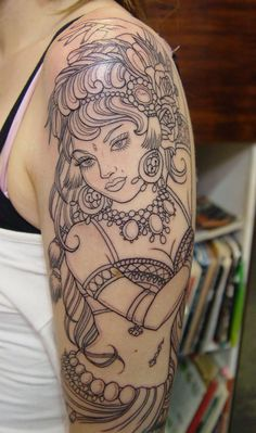 Gypsy Tattoos, Designs And Ideas