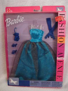 Barbie Fashion Avenue Evening Dress NRFB | eBay