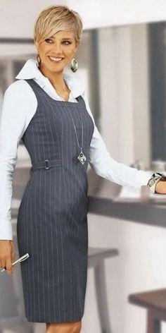 43 Work Fashion That Make You Look Fabulous - Dresses for Women Fashion Mode, Office Fashion, Work Fashion, Modest Fashion, Fashion Dresses, Fashion Looks, Womens Fashion, Fashion Trends, Trending Fashion