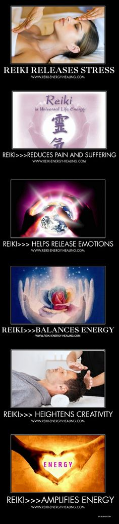 When the intention is set and Reiki energy is channeled AND the client is open to receive, many wondrous things can happen.
