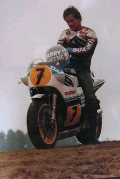 Barry Sheene Suzuki 1985